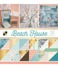 "Beach House - 12""X12"" Paper Pad"