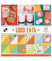 """Good Eats - 12""""X12"""" Paper Pad"""