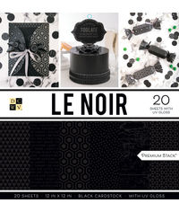 """LE Noir - 12""""X12"""" Paper Pad"""