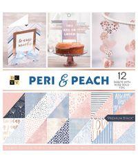"""Peri & Peach - 12""""X12"""" Paper Pad"""