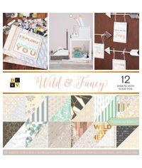 "Wild & Fancy - 12""X12"" Paper Pad"