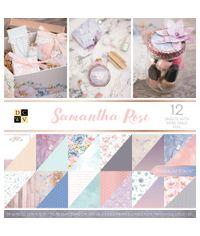 "Samantha Rose - 12""X12"" Paper Pad"