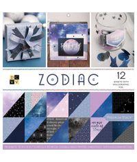 """Zodiac - 12""""X12"""" Paper Pad"""