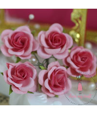 Curved Roses 35 MM - Pink Combo