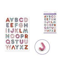 Posh Letters Sticker