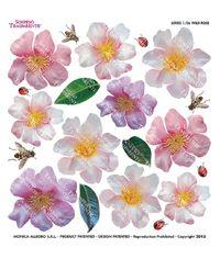 Wild Rose - Printed Plastic sheet