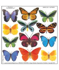 Butterfly - Printed Plastic sheet