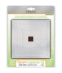 SQUARE LAYERING DIE SET