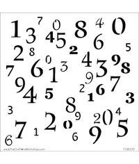 Numerals - Stencil