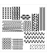 Stitched Art - Stencils
