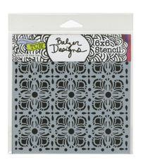 Flower Tiles - Stencil