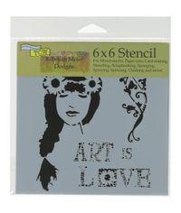 Art Is Love - Stencil