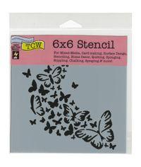 Butterfly Trail - Stencil
