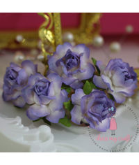 Twisted Roses - Shaded Lilac