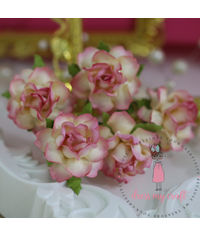Twisted Roses - Shabby Pink