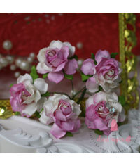 Twisted Roses - Soft Pink