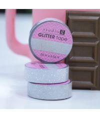 Silver - Glitter Washi Tape