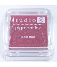 Red - Pigment Ink Pad