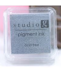 Silver - Pigment Ink Pad
