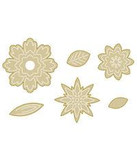 Flower Fold Steel Rule - Die