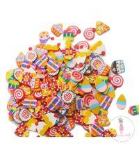 DMCS3877 Dress My Crafts Shaker Elements 8gm-Rainbow Candies