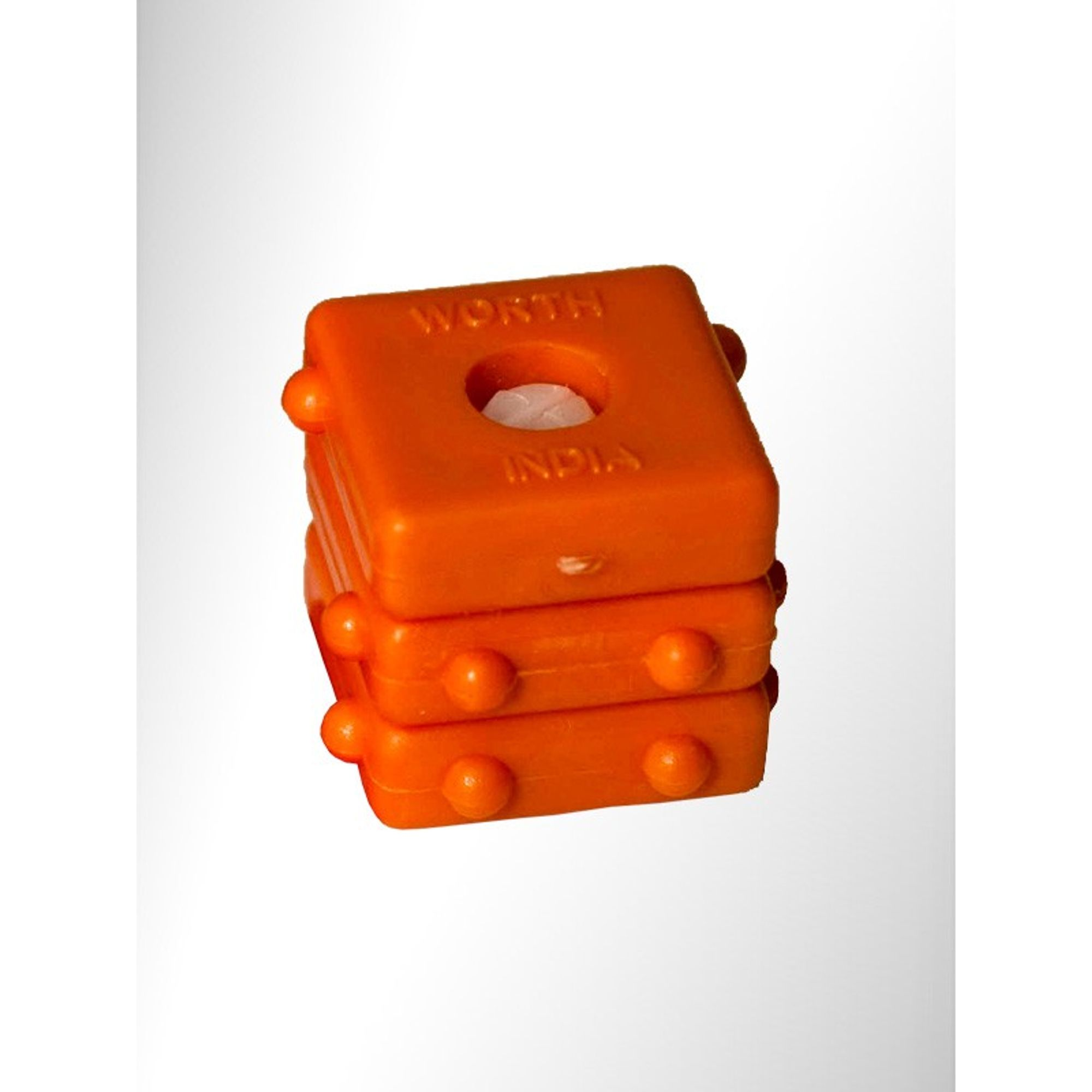 Braille Word Block 3 Letter Cube