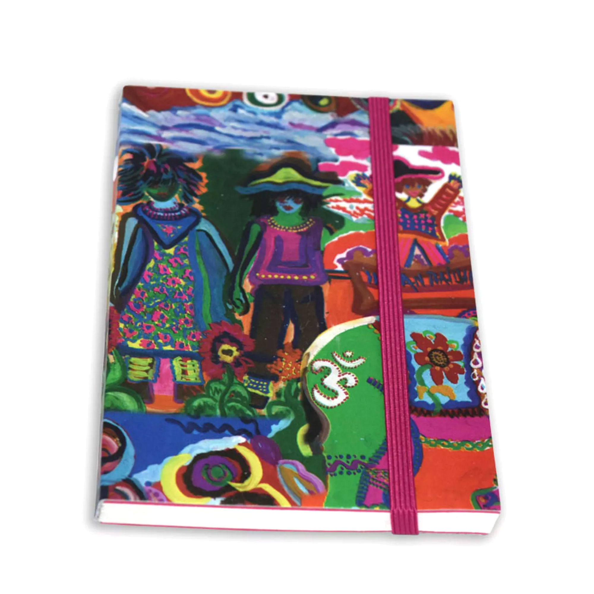 Beautiful Printed Journal, Medium