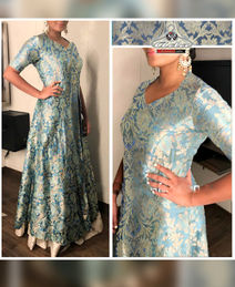 Lovely Pure Banarasee Dress