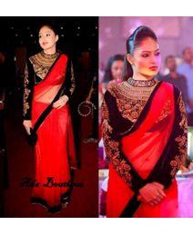 Nikisha Patel Sizzling Saree