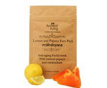 Organic  Lemon & papaya face pack-40gm