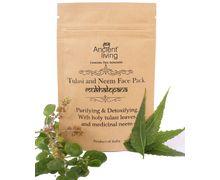 Organic  Tulasi & Neem face pack-40gm