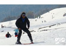 Skiing: Basic Course - Auli 7 Days
