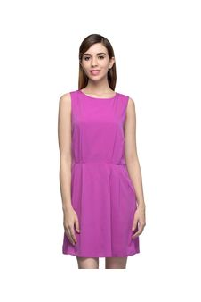 Women Pink Shift Dress