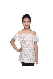 Girls Off-Shoulder Dress