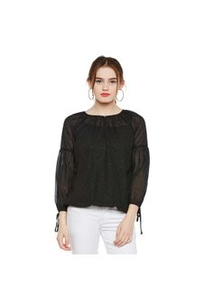 Shimmery Party Wear Top