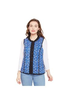 Floral Button Down Jacket