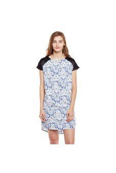 Printed Nightwear Dress