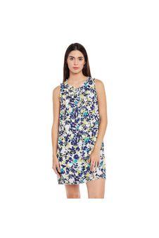 Multicolor Night Wear Dress