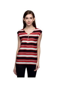 Women Striped Multicolour Top