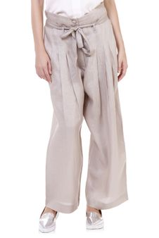 Women Pleated Pants
