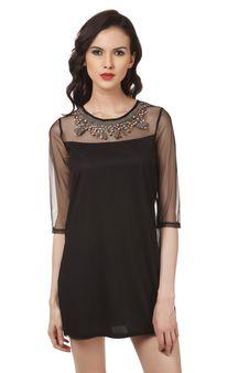 Women Stylish Black Dress