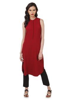 Women Red Tunic