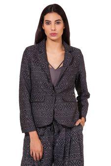 Women Grey Blazer