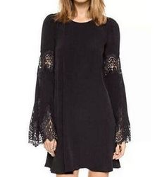 Trendy Flare Sleeve With Hollow style Long Top - Ships in 24 hrs