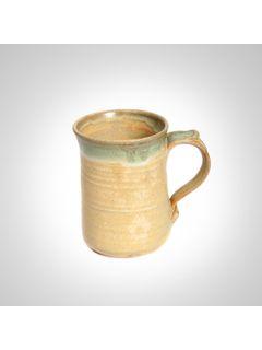 Moss cream ceramic mug