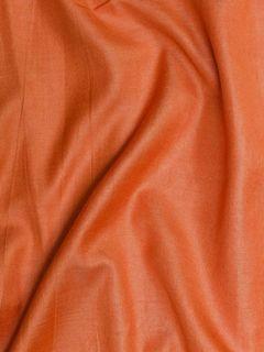 Light Orange Cotton Silk Fabric