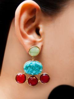 Solar Star earrings