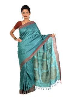 Balin Tussar Silk Saree