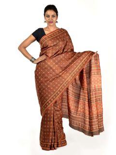 Manahzila Tussar Silk Saree