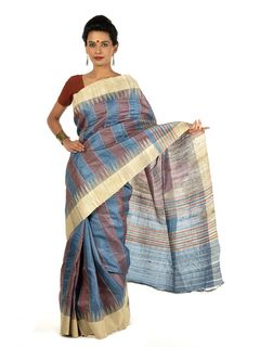 Nailya Tussar Silk Saree